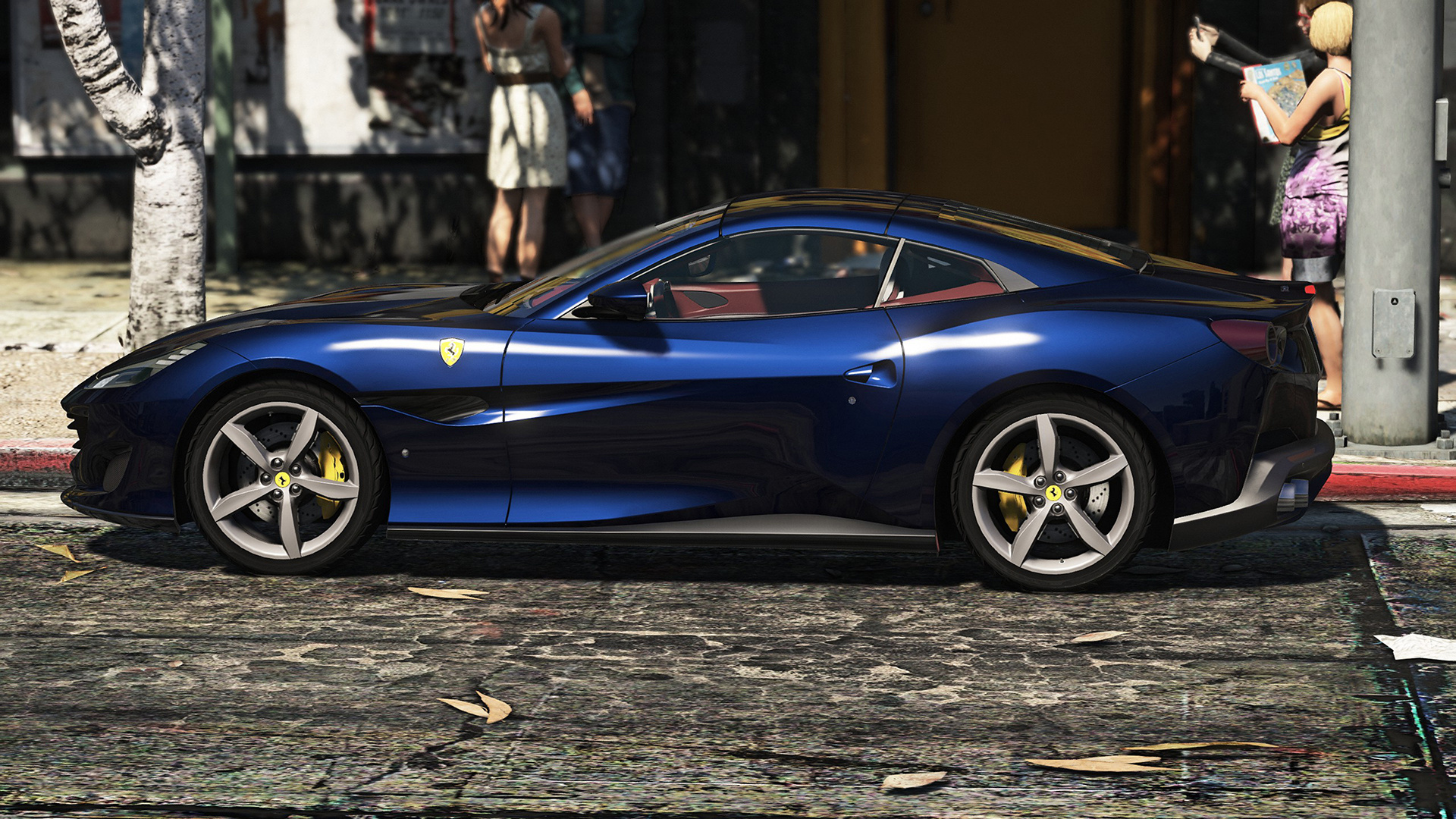 2018 Ferrari Portofino Add On Replace Gta5 Mods Com
