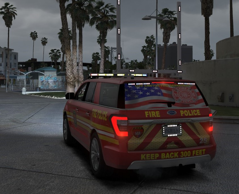 Tow Hitch Installation >> 2018 Ford Expedition Fire Dept [ELS] - GTA5-Mods.com