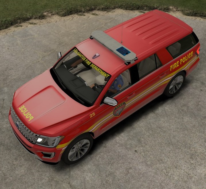 2018 Ford Expedition Fire Dept [ELS]