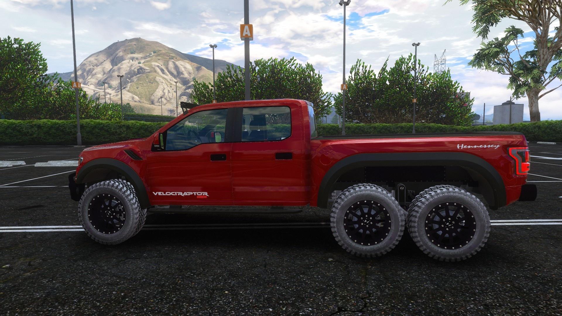 2018 Ford Velociraptor 6x6 Add On Gta5 Mods Com