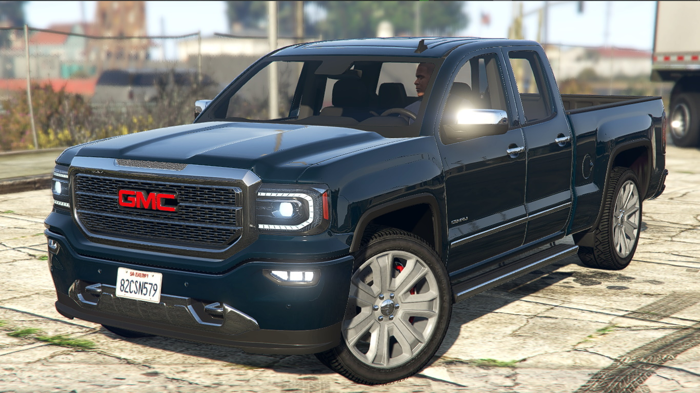 2018 Gmc Sierra Denali 1500 Add On Gta5 Mods Com