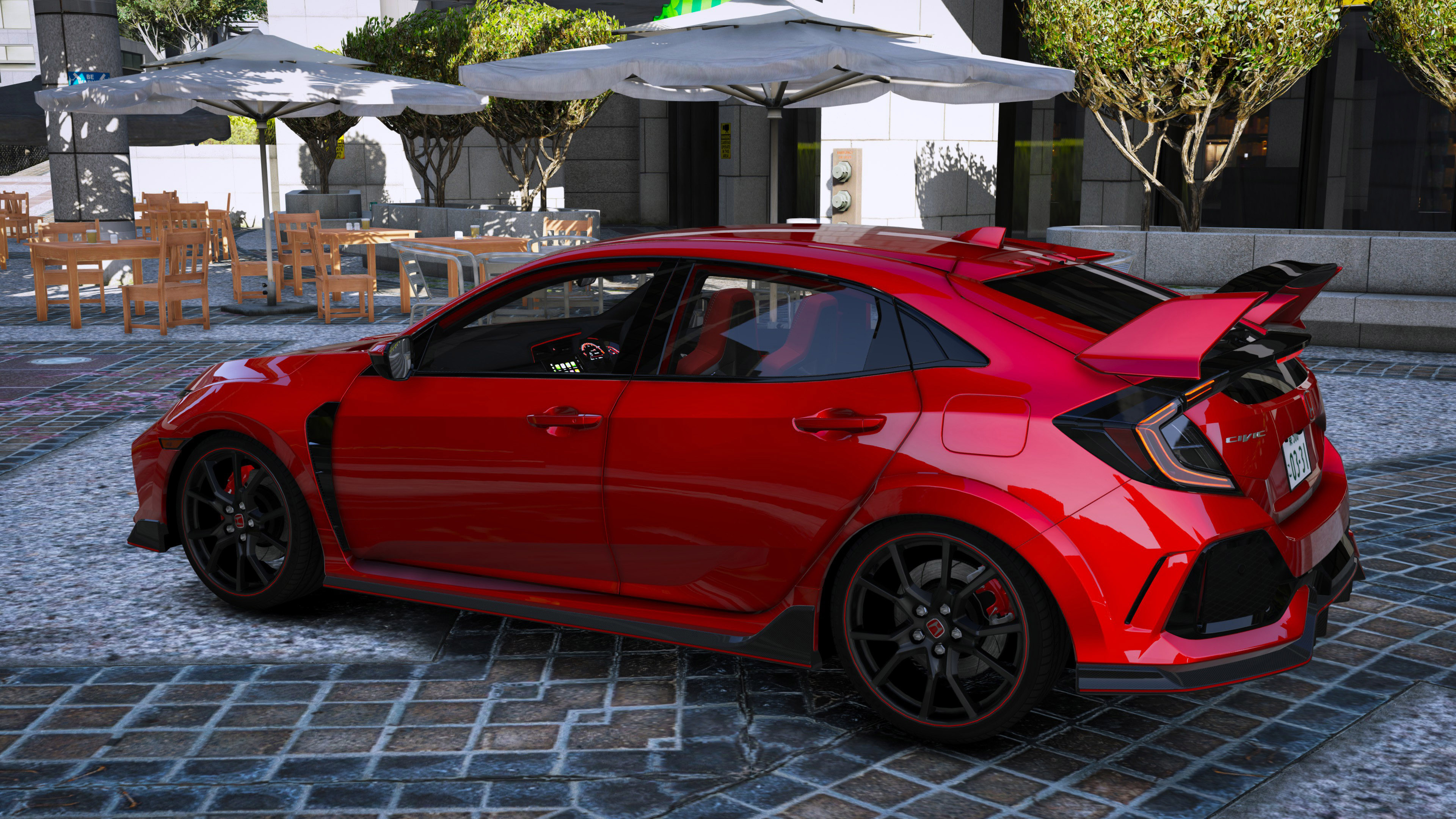 2018 honda civic type r fk8 varis rhd add on gta5. Black Bedroom Furniture Sets. Home Design Ideas
