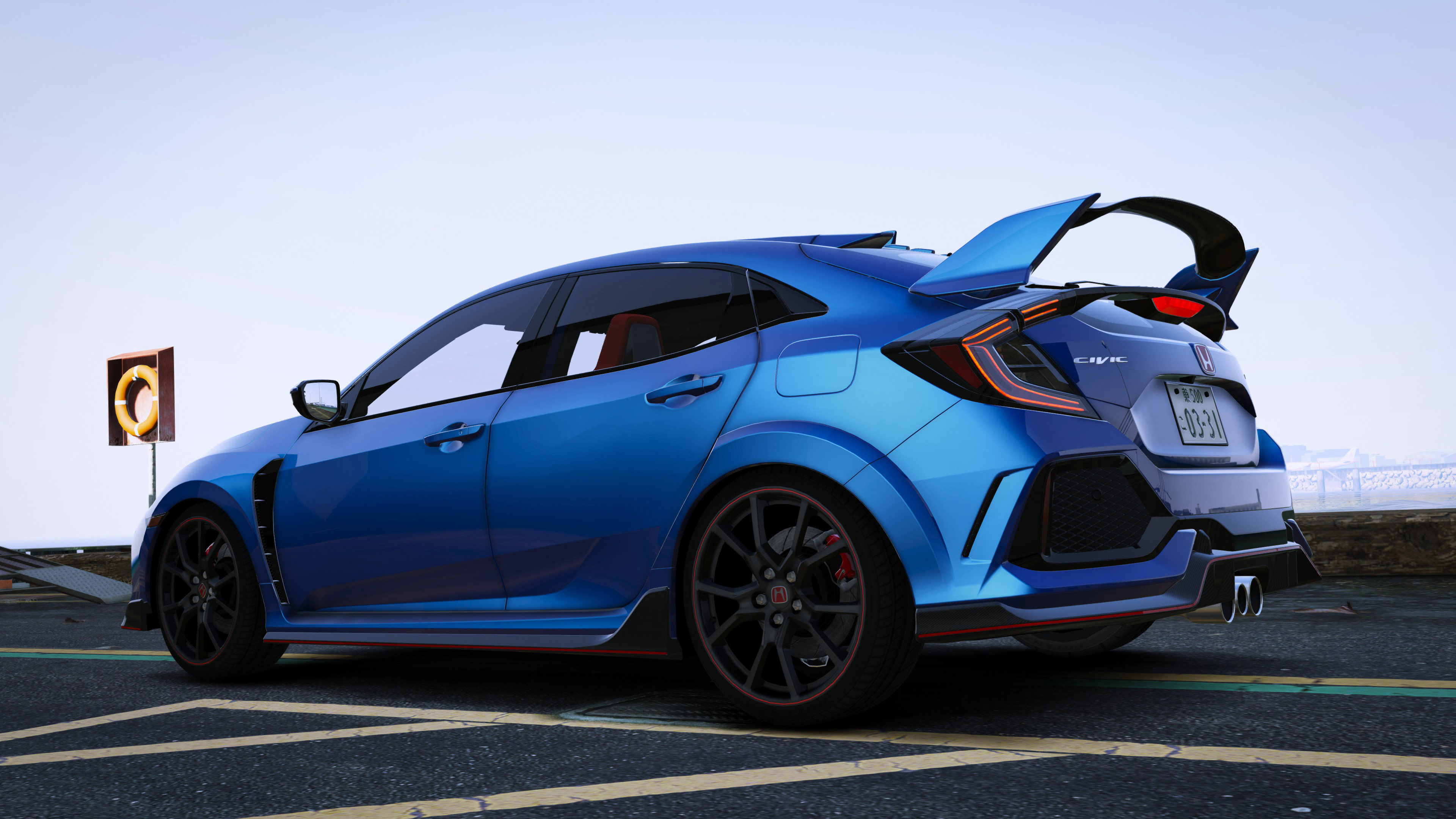2018 honda civic type r fk8 modulo varis rhd gta5. Black Bedroom Furniture Sets. Home Design Ideas