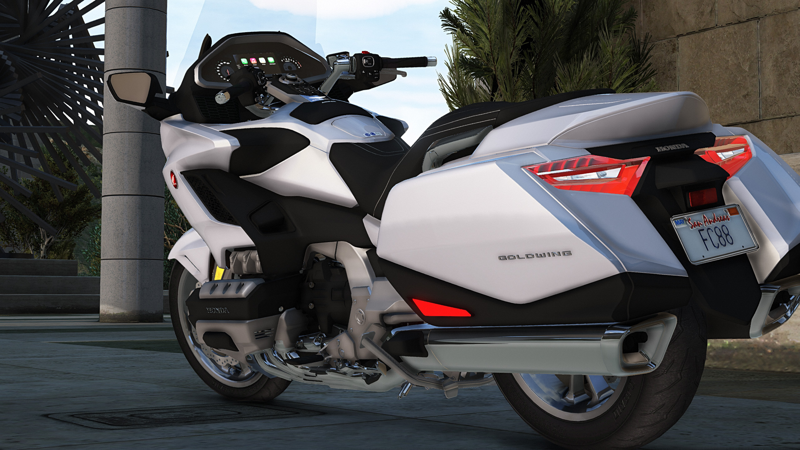 2018 Honda Goldwing Touring [Replace] - GTA5-Mods com