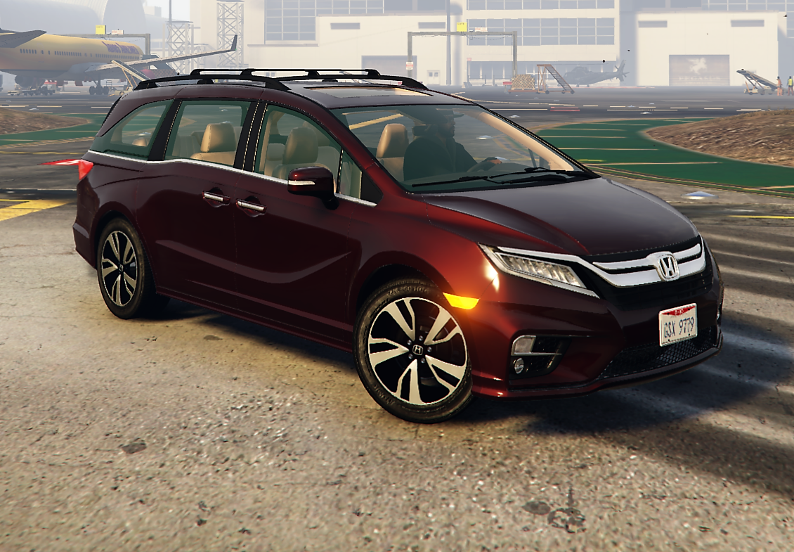 2018 honda odyssey elite replace add on gta5 for Honda odyssey pilot