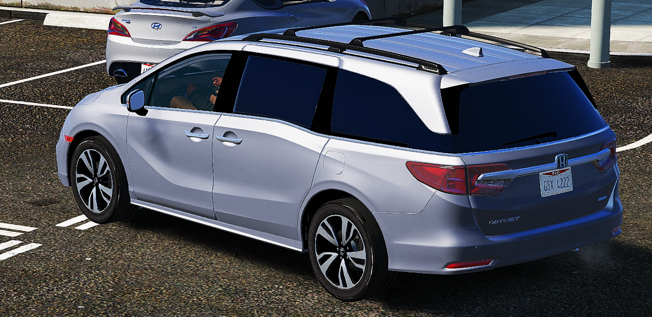 2018 Honda Odyssey Elite Replace Add On Gta5 Mods Com
