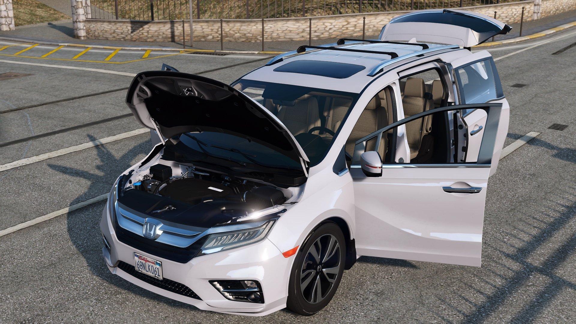 2015 Toyota Camry Xse >> 2019 Honda Odyssey Elite [Replace/Add-On] - GTA5-Mods.com