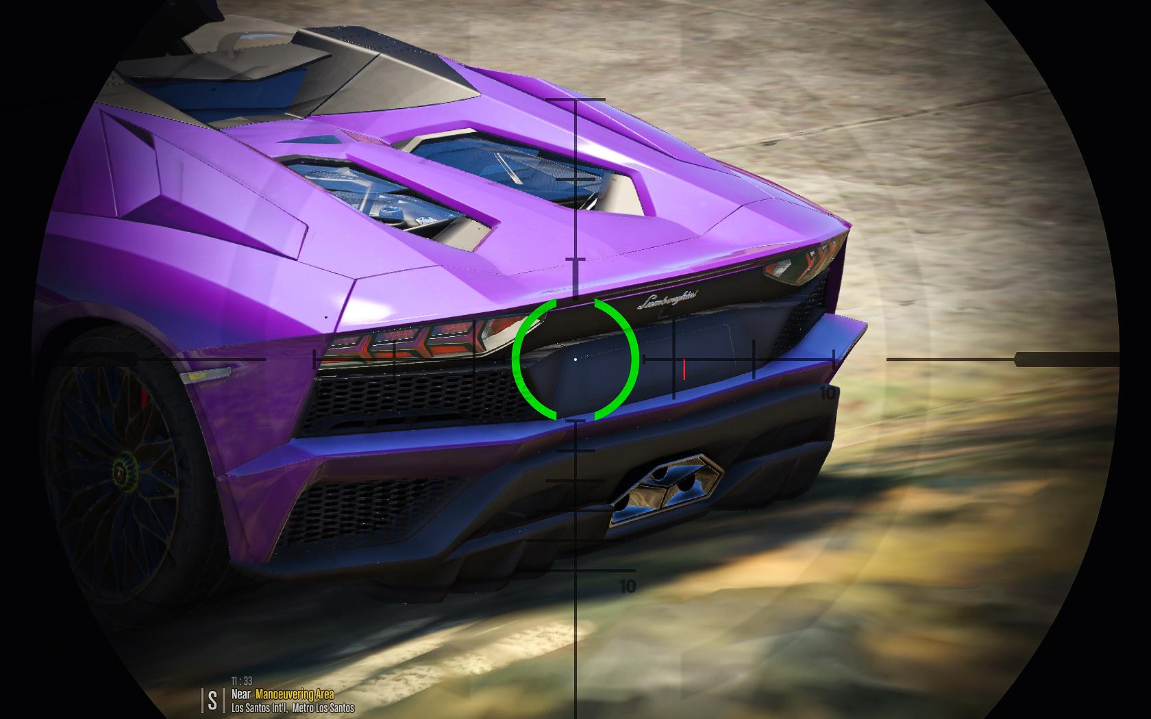 2018 Lamborghini Aventador S Roadster Interior Retexture Gta5 Mods Com