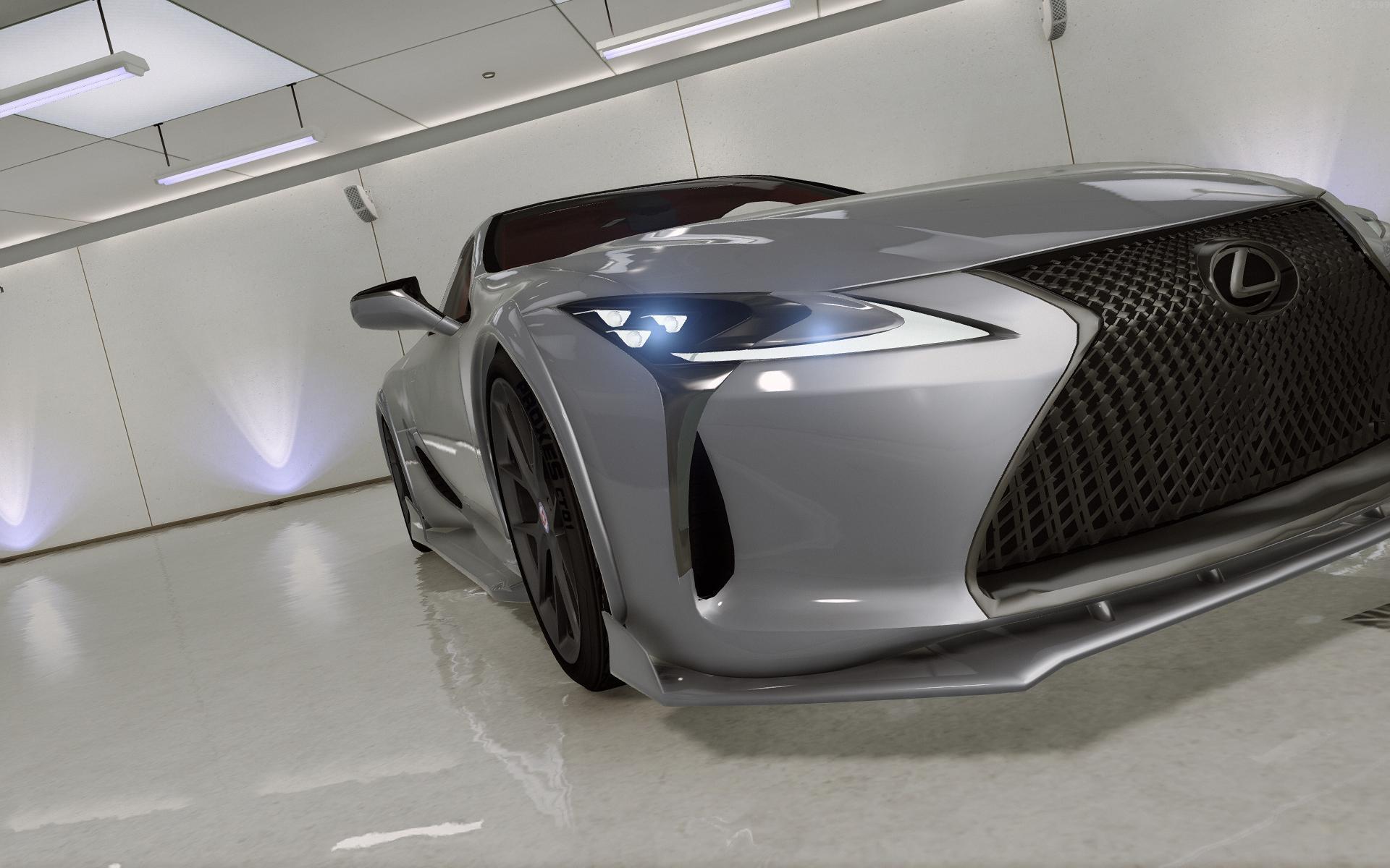 2018 Lexus Lc 500 Add On Tuning Hq Gta5 Mods Com