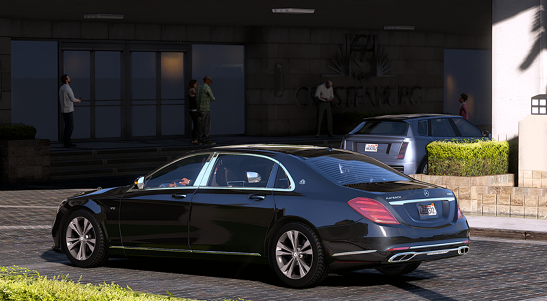 2018 Mb Maybach S650 Gta5 Mods Com