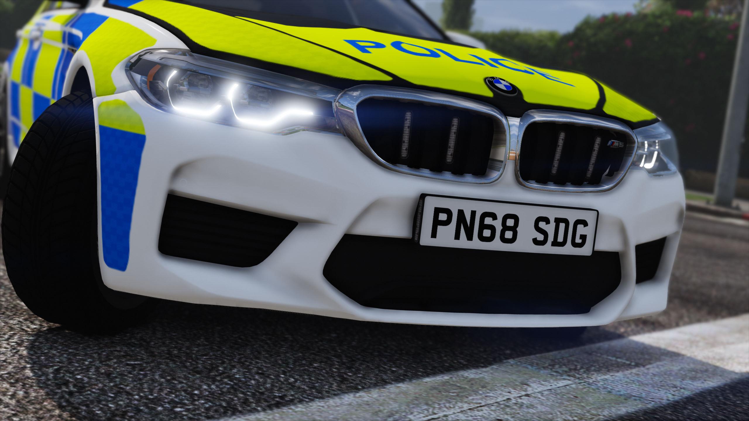 2018 Police BMW M5 F90 [Replace | ELS] - GTA5-Mods com