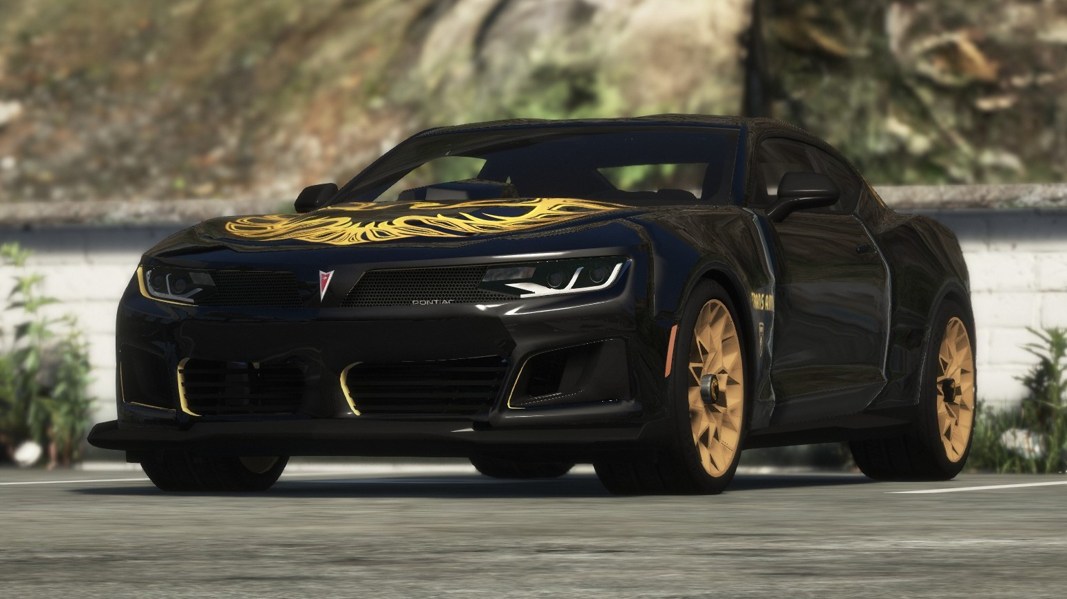 2018 Pontiac Firebird Trans Am [Add-On / Livery] - GTA5-Mods com