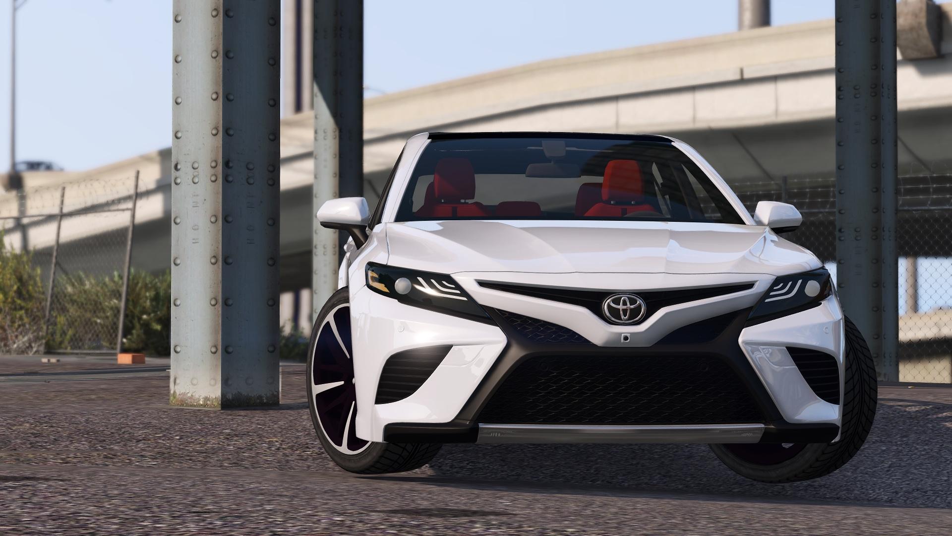 2018 Toyota Camry Xse Gta5 Mods Com