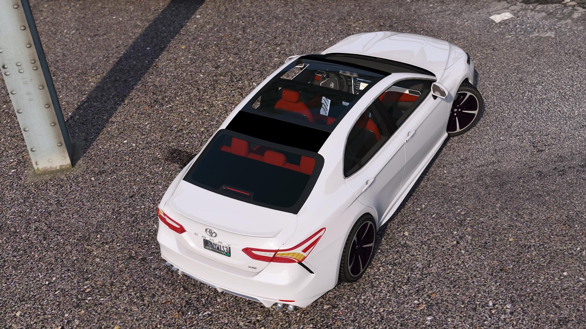 Xse 2018 Camry >> 2018 Toyota Camry XSE - GTA5-Mods.com