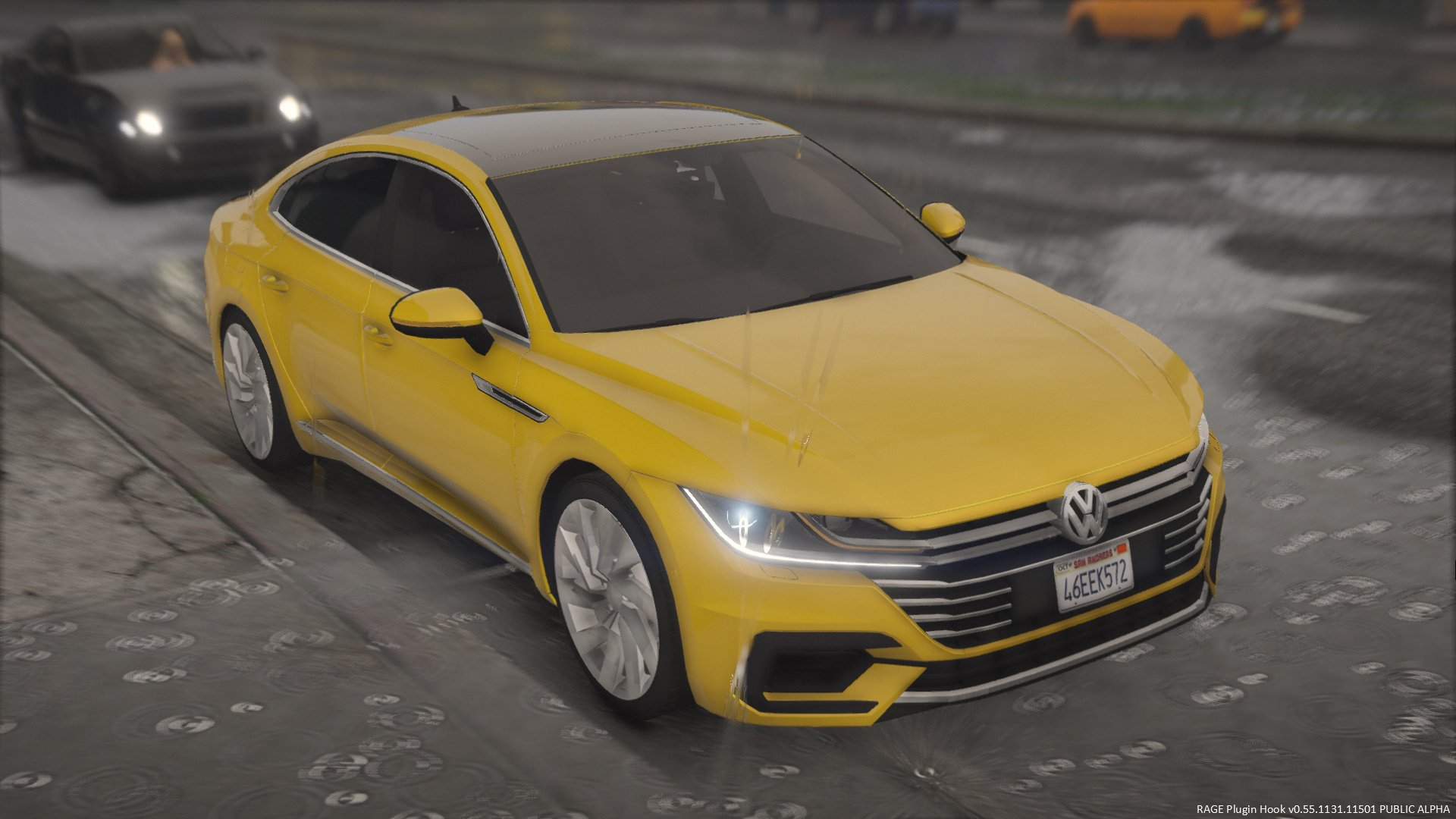 2018 Volkswagen Arteon Sedan Replace Gta5 Mods Com