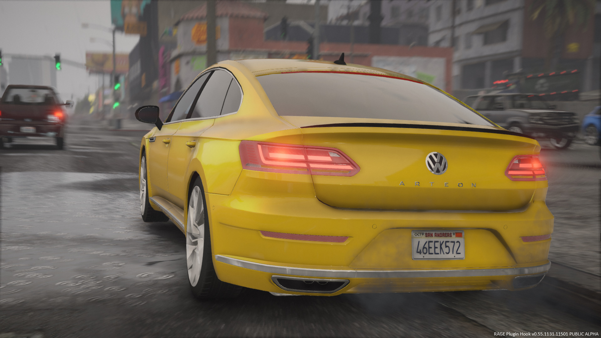 2018 volkswagen arteon sedan replace gta5. Black Bedroom Furniture Sets. Home Design Ideas