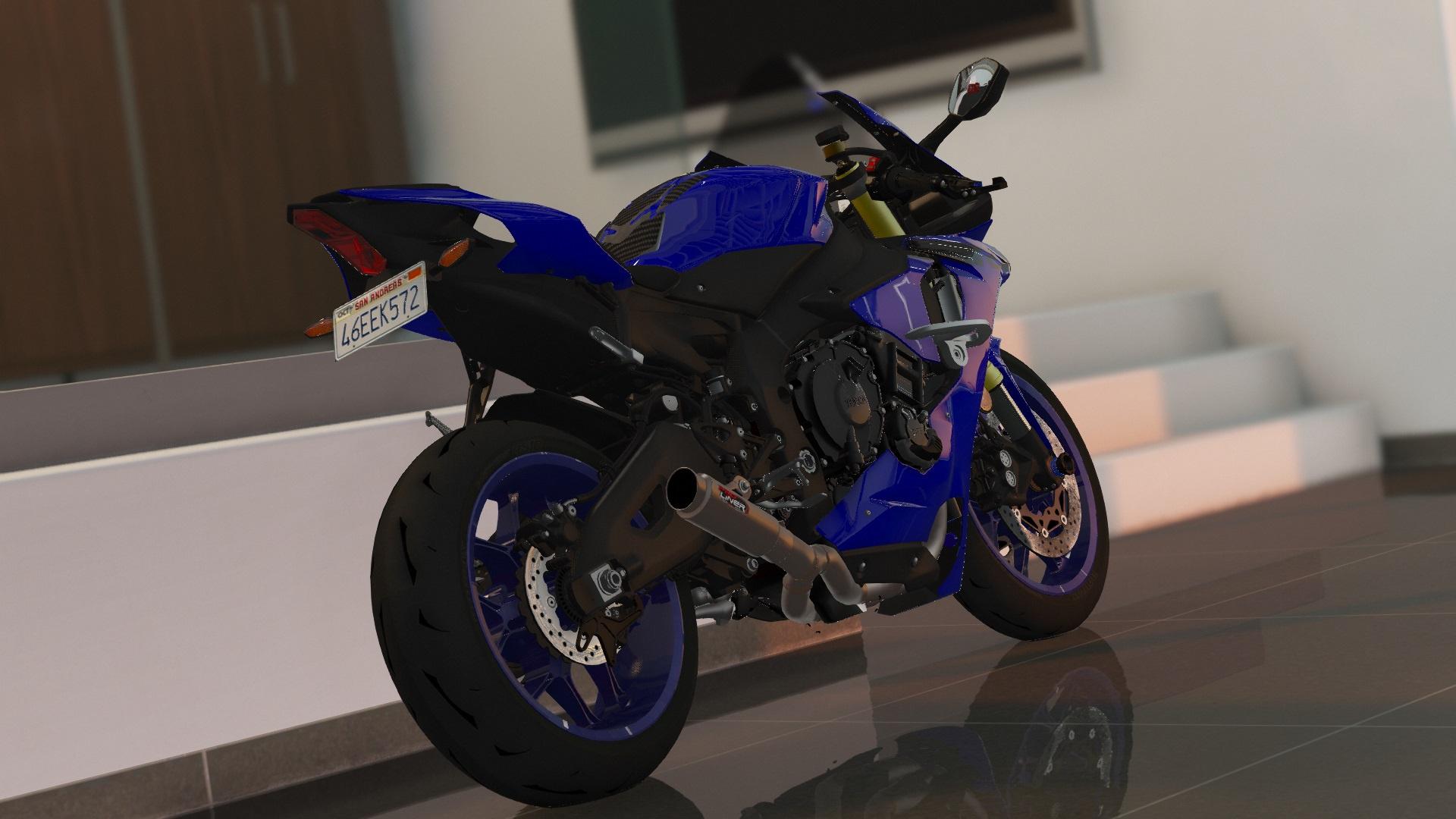 2018 Yamaha Yzf R1 R1m Addons Tuning Gta5 Mods Com