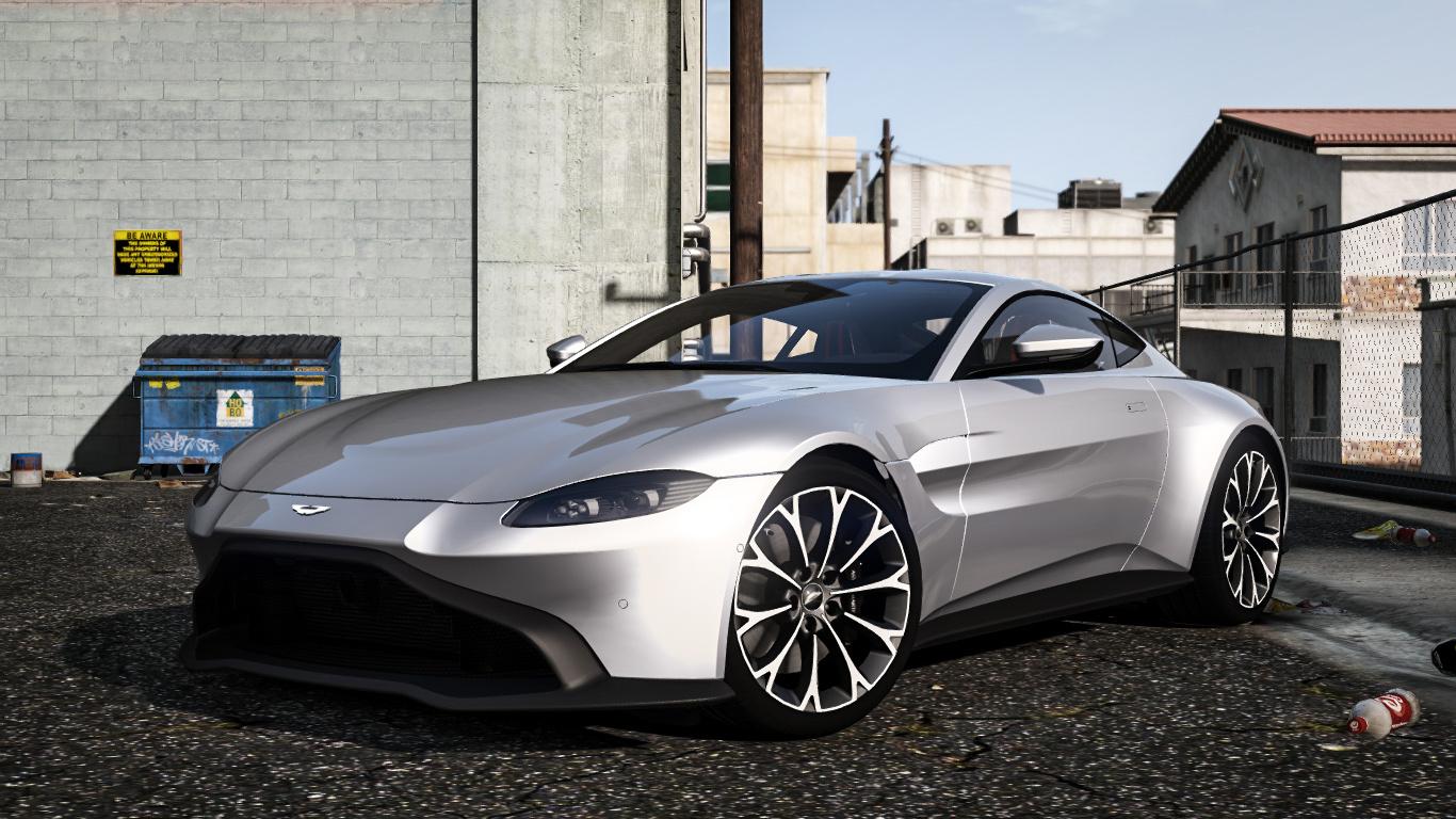 2019 Aston Martin Vantage [Add-on/Replace] - GTA5-Mods com