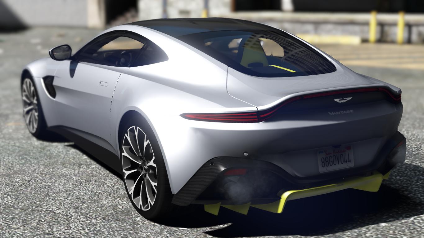 2019 Aston Martin Vantage Add On Replace Gta5 Mods Com