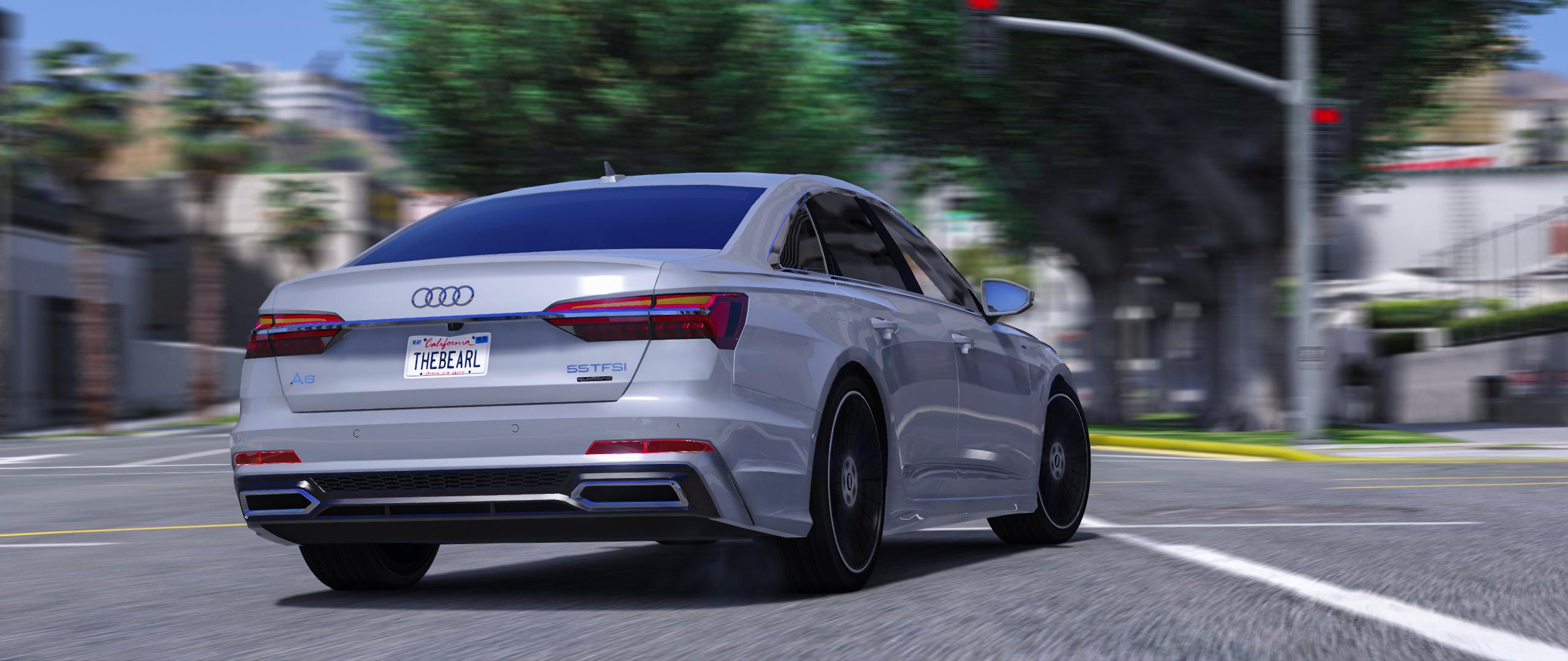 2019 Audi A6 55 Tfsi Quattro S Line Gta5 Mods Com Audi a6l 55 tfsi quattro s line