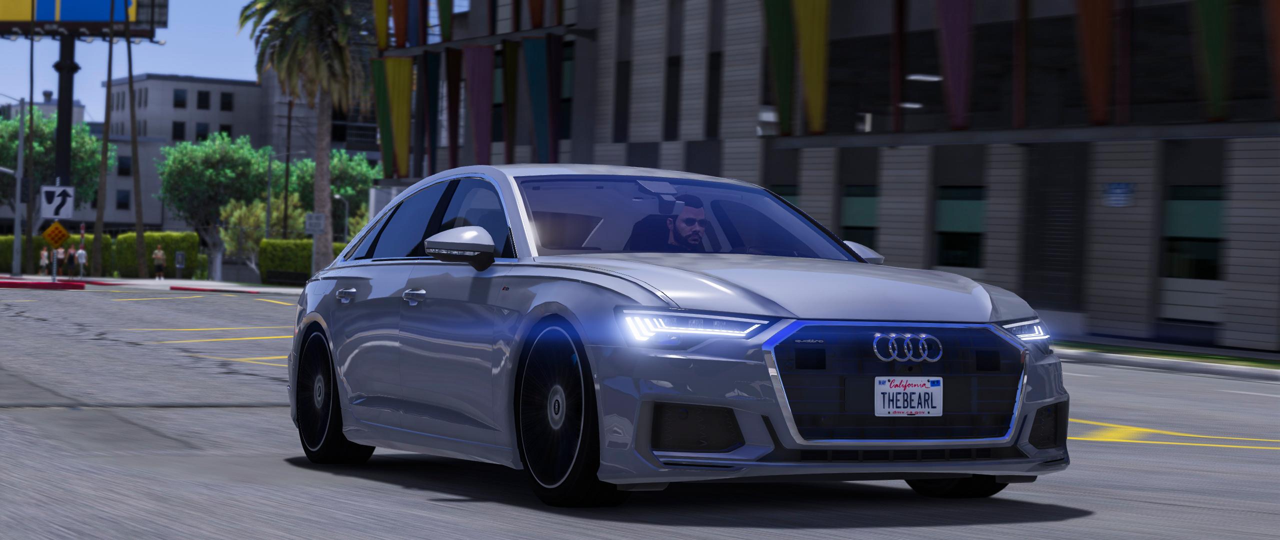 2019 Audi A6 55 Tfsi Quattro S Line Gta5 Mods Com