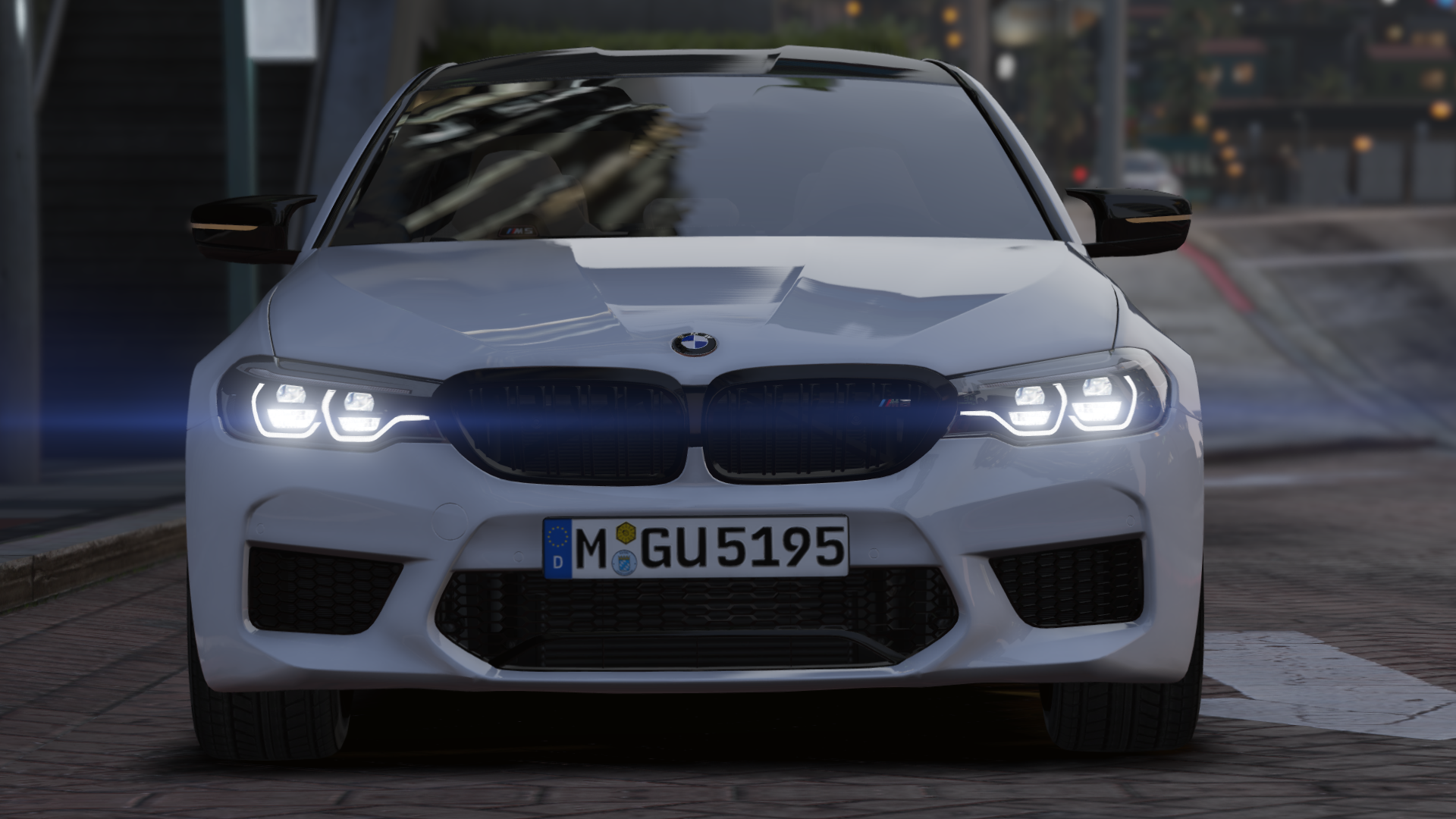 2019 Bmw M5 F90 Competition Add On Gta5 Mods Com