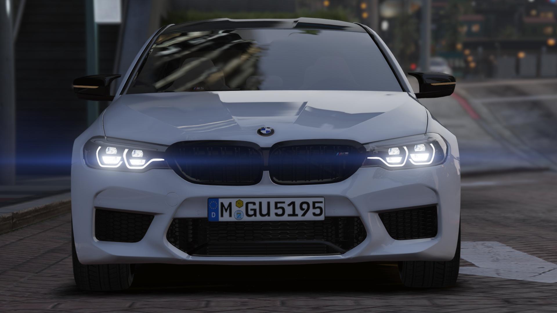 2019 Bmw M5 F90 Competition Add On Gta5 Mods Com