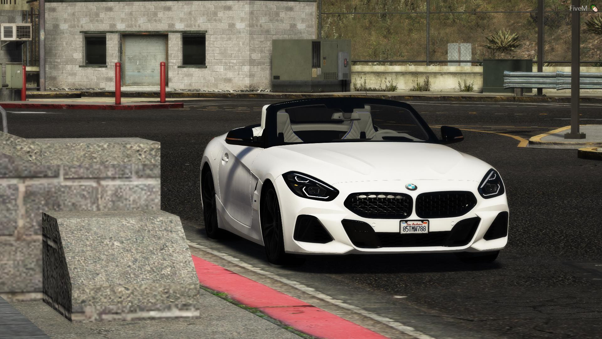 2019 Bmw Z4 M40i G29 Realistic Handling Engine Sound Gta5 Mods Com