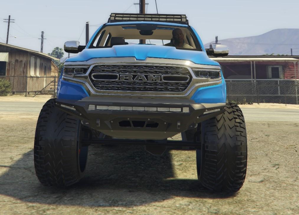 2019 Dodge Ram Offroad - GTA5-Mods com