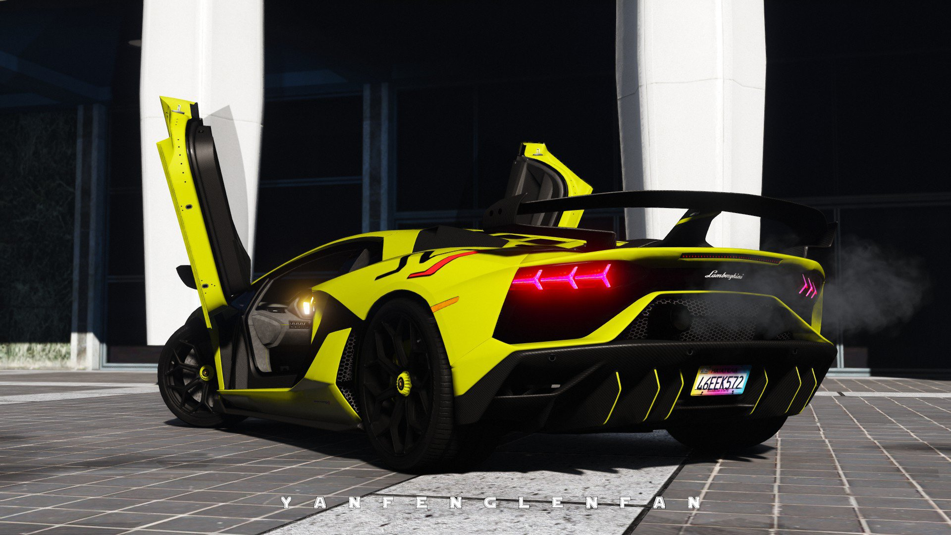 2019 Lamborghini Aventador Svj Add On Digital Gear Hq Gta5