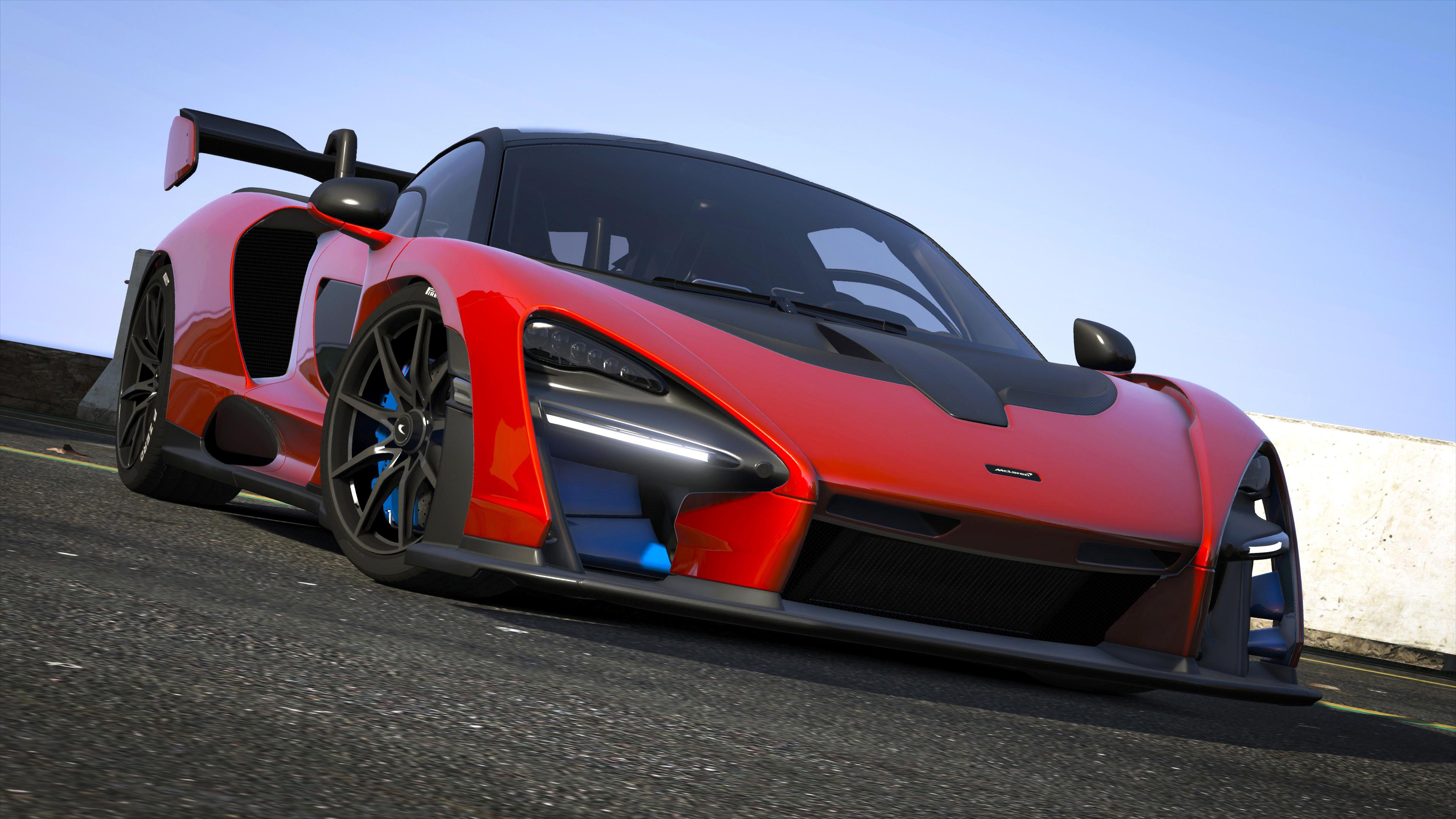 2019 McLaren Senna [Add-On] - GTA5-Mods com
