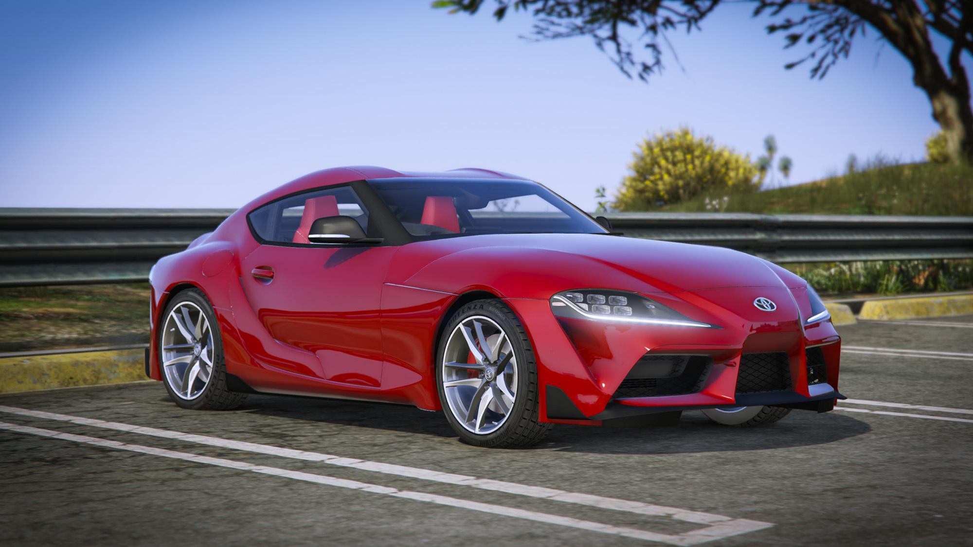 2019 Toyota Supra Gr Add On Rhd Jp Spec Gta5 Mods Com