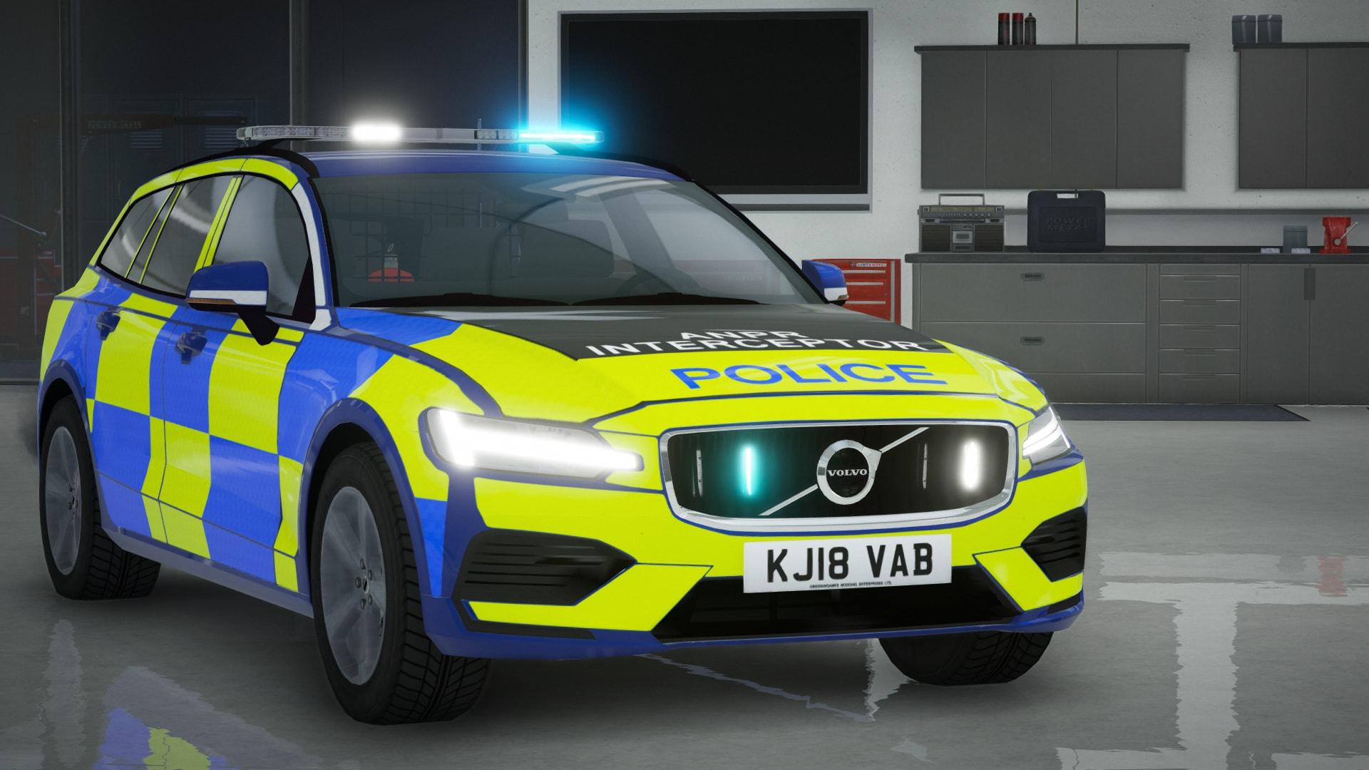 2019 Volvo V60 Police Demo Pack [ELS] - GTA5-Mods.com