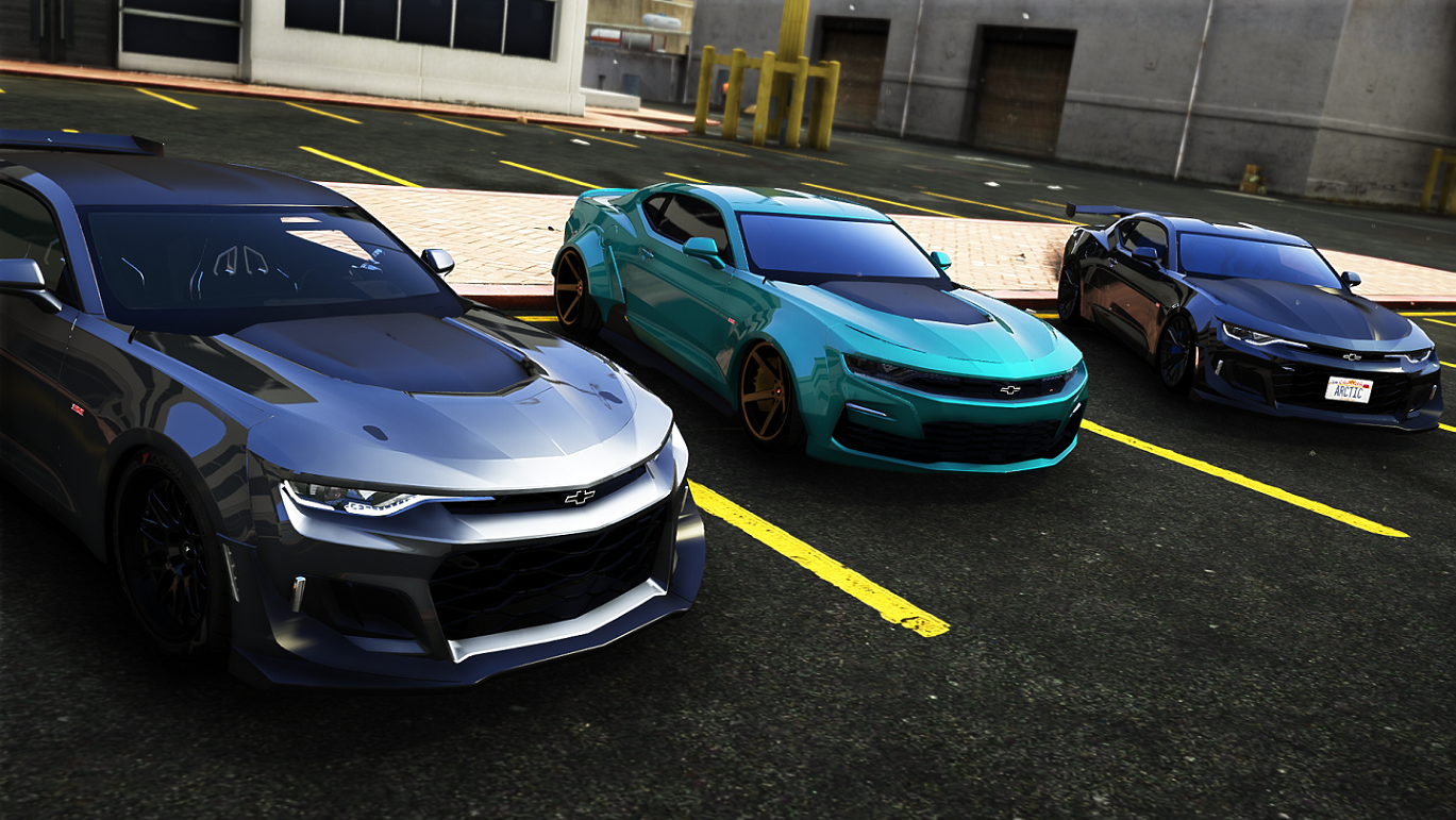 2020 chevrolet camaro ss addon  replace  tuning