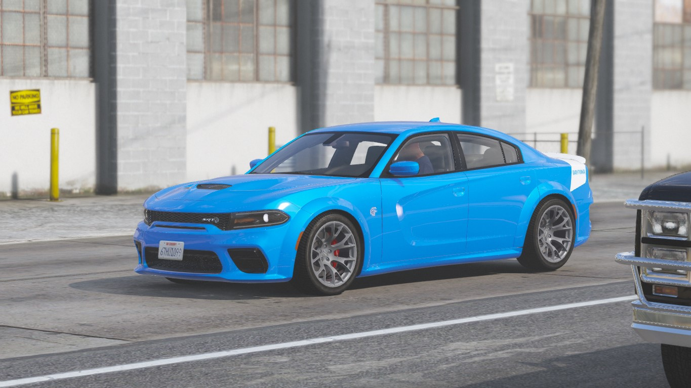 2020 Dodge Charger Srt Hellcat Daytona 50th Anniversary Edition Add On Gta5 Mods Com