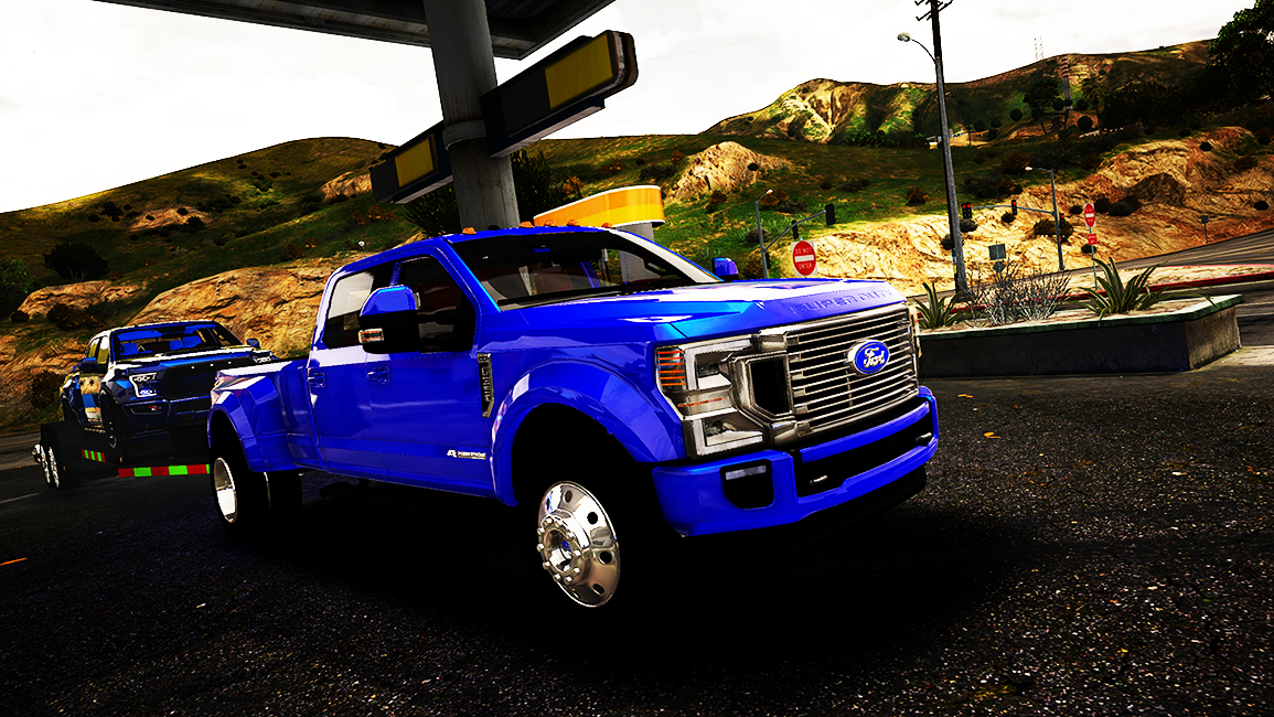 2020 Ford F-350 King Ranch Dually [Add-On] - GTA5-Mods.com