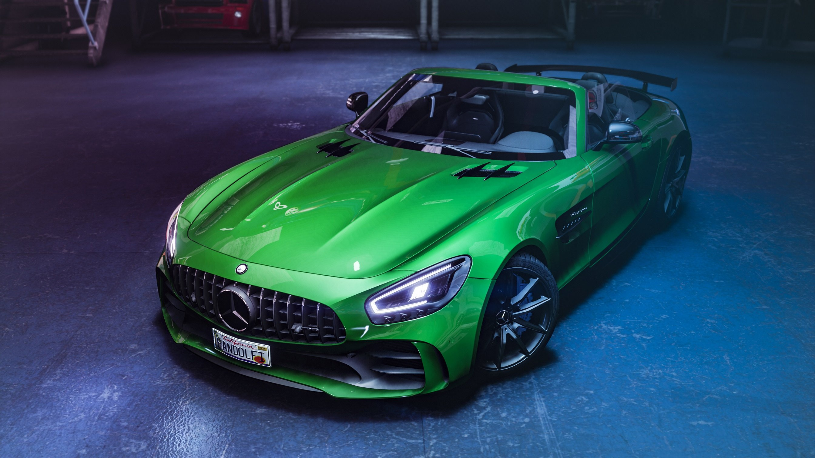 2020 Mercedes Benz Amg Gt R Roadster Animated Roof Add On Template Gta5 Mods Com