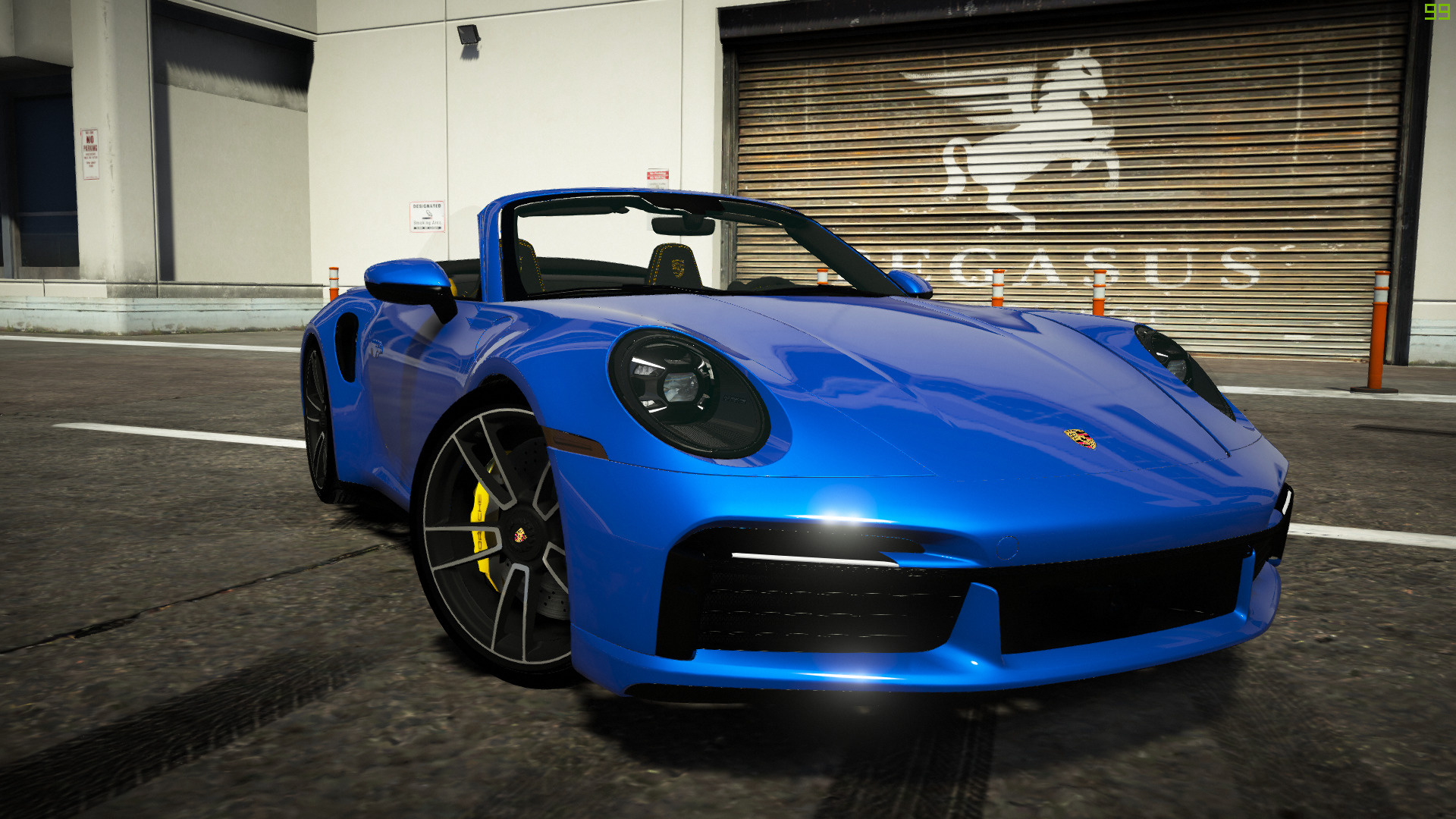 2020 Porsche 911 Turbo S Cabriolet Add On 992 Auto Spoiler Extras Gta5 Mods Com