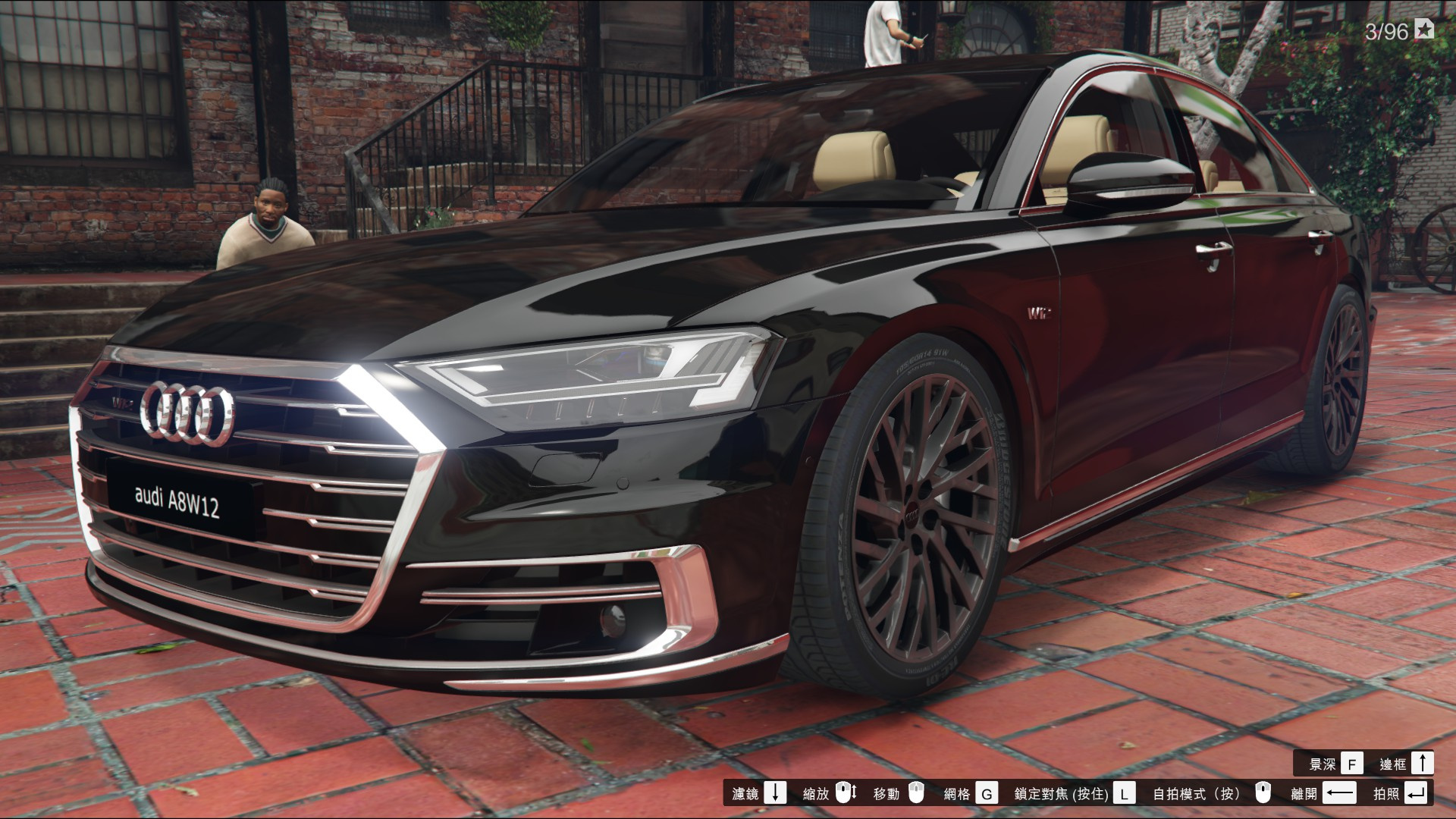 2018 audi a8 w12 d5 add on gta5. Black Bedroom Furniture Sets. Home Design Ideas