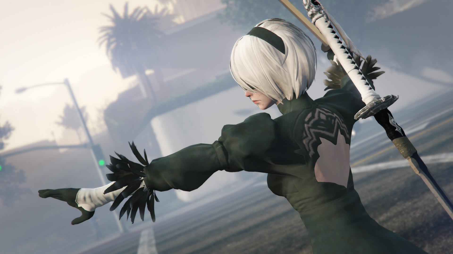 Premise Indicator Words: 2B & A2 Nier Automata [Add-On Ped / Replace]