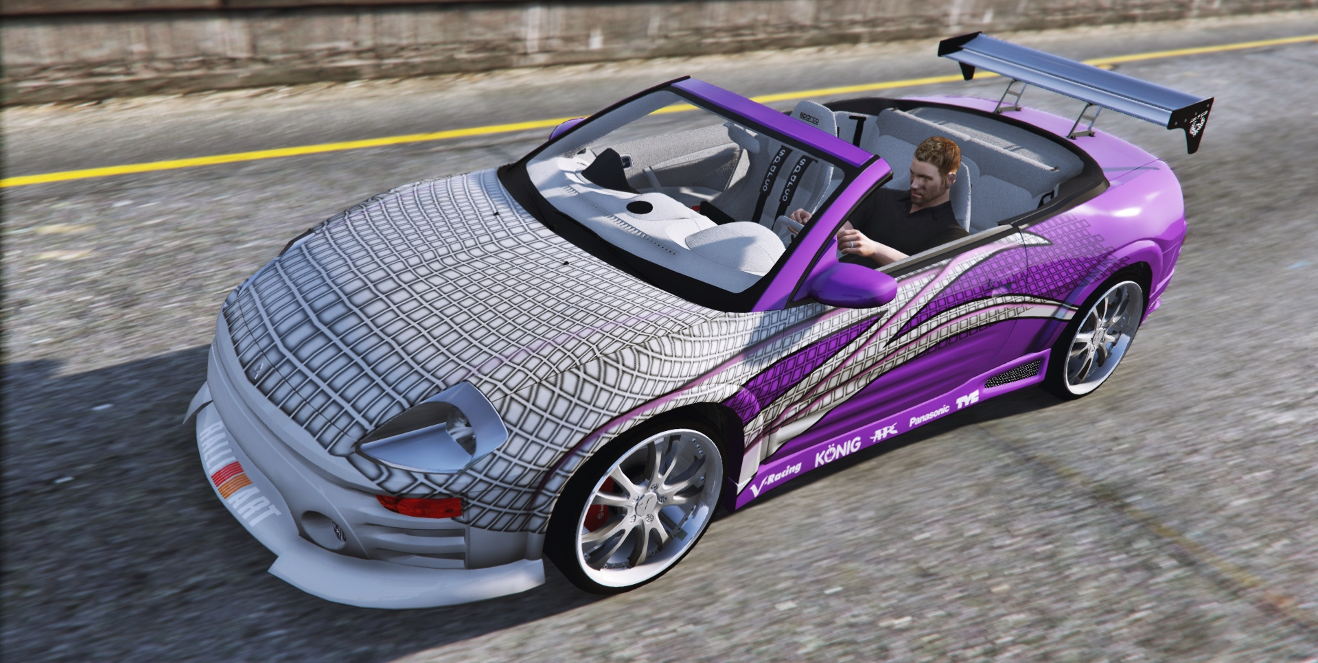 2f2f edition 2003 mitsubishi eclipse spyder gts gta5. Black Bedroom Furniture Sets. Home Design Ideas