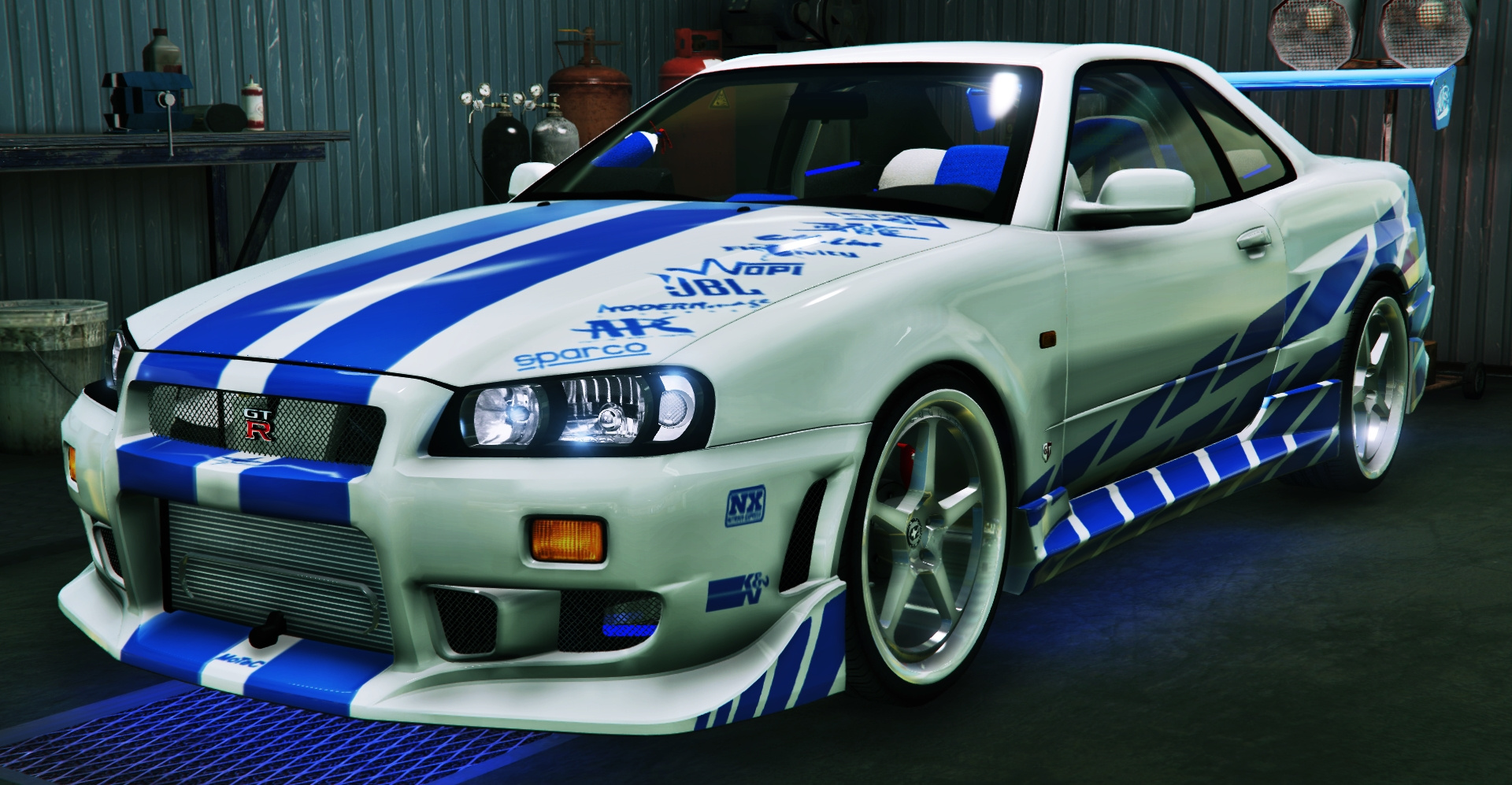2f2f Edition Nissan Skyline Gt R34 on 95 eclipse gt