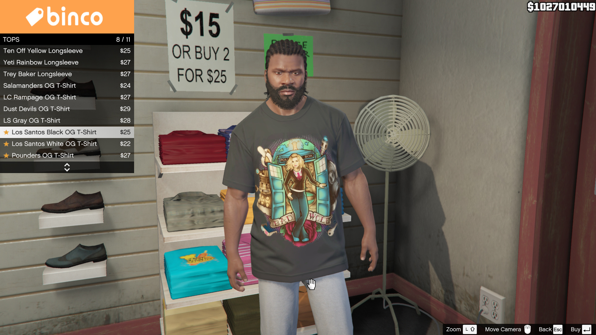 Black t shirt michaels - 3ae0e5 Gta5 2015 05 27 21 56 01 262