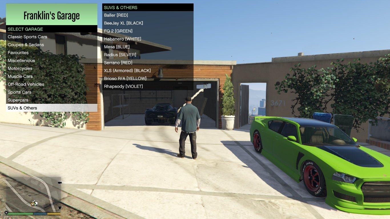 3 Single Player Garages Spg Full Of Cars For All