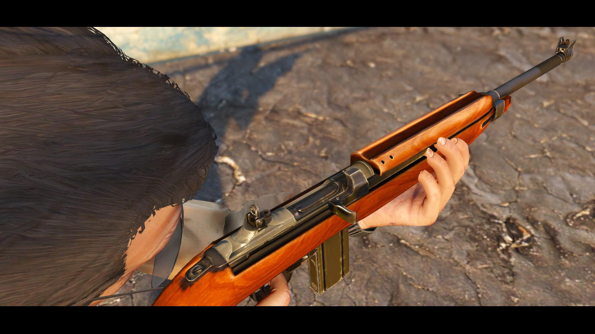 M1: .30 Cal M1 Carbine Rifle [Black Mass Movie