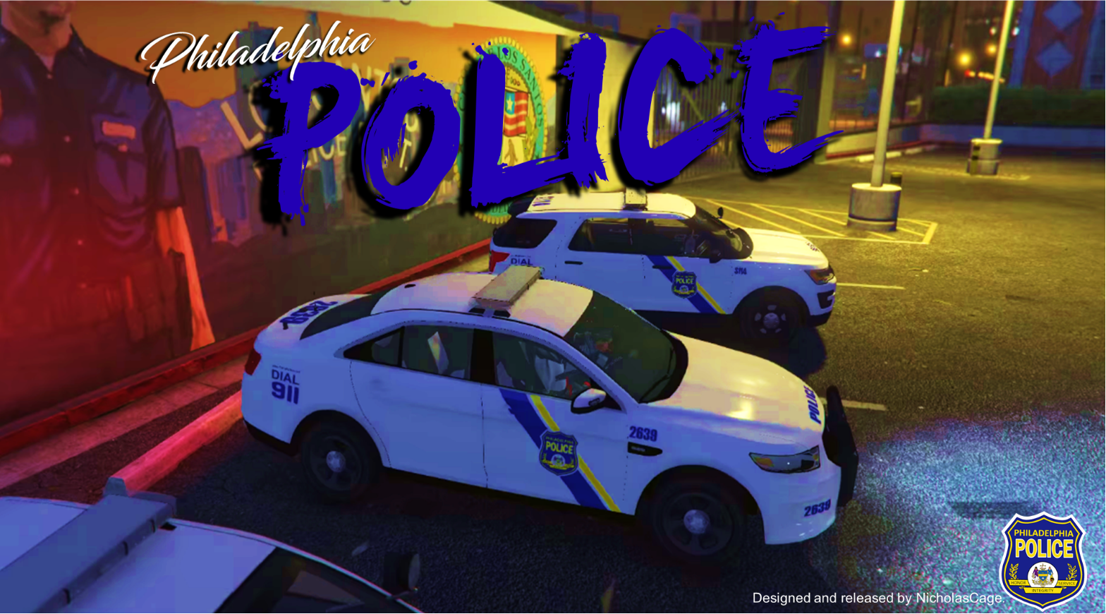 4k philadelphia police pack gta5. Black Bedroom Furniture Sets. Home Design Ideas