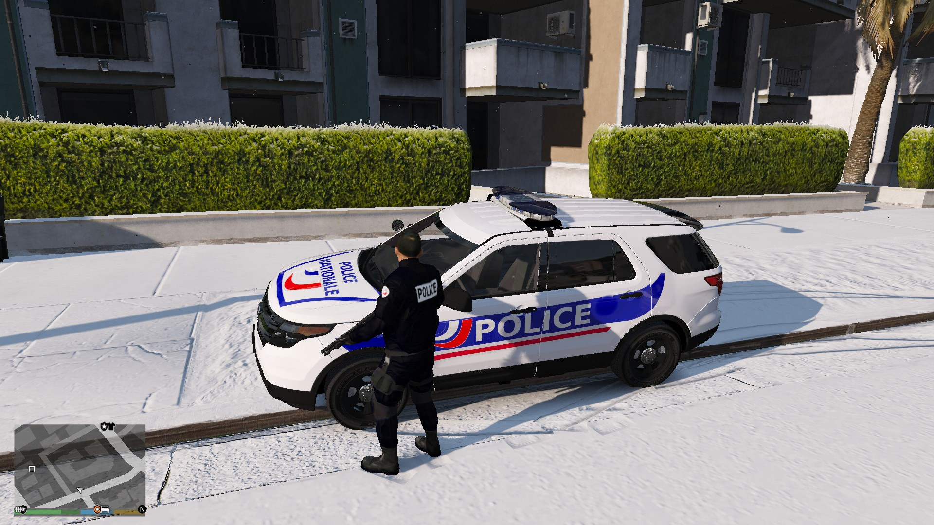 4x4 Police Nationale Gta5 Mods Com