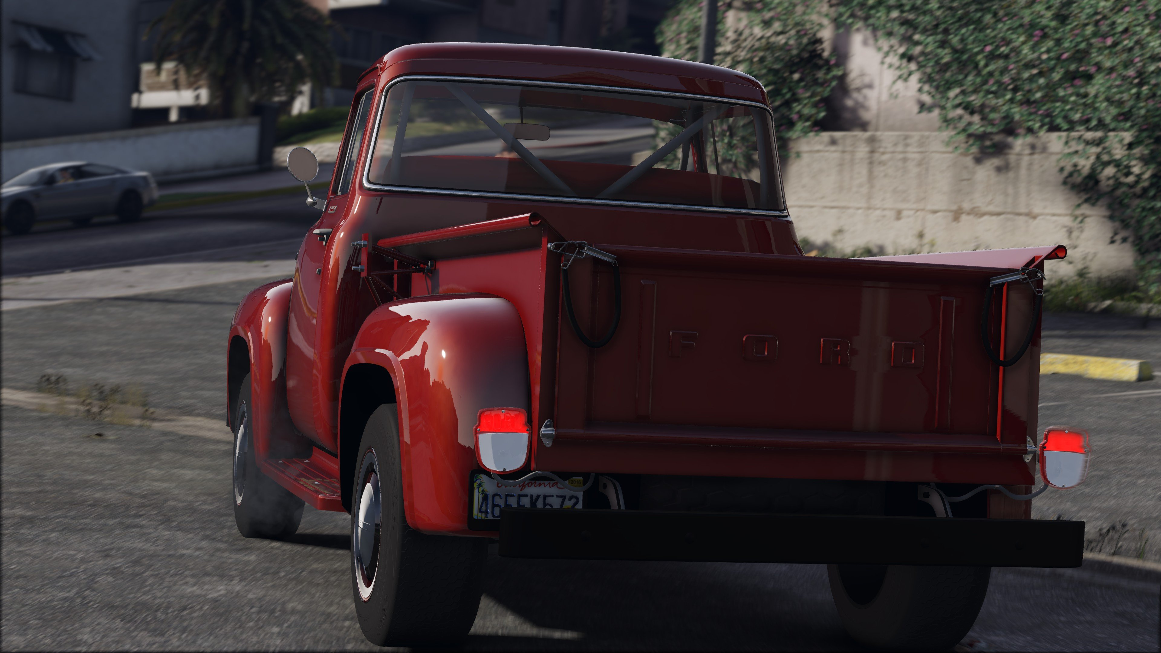 Dodge Ram Runner >> '56 Ford F100 [FH3] | ADDON | Animated Engine & Exhaust - GTA5-Mods.com