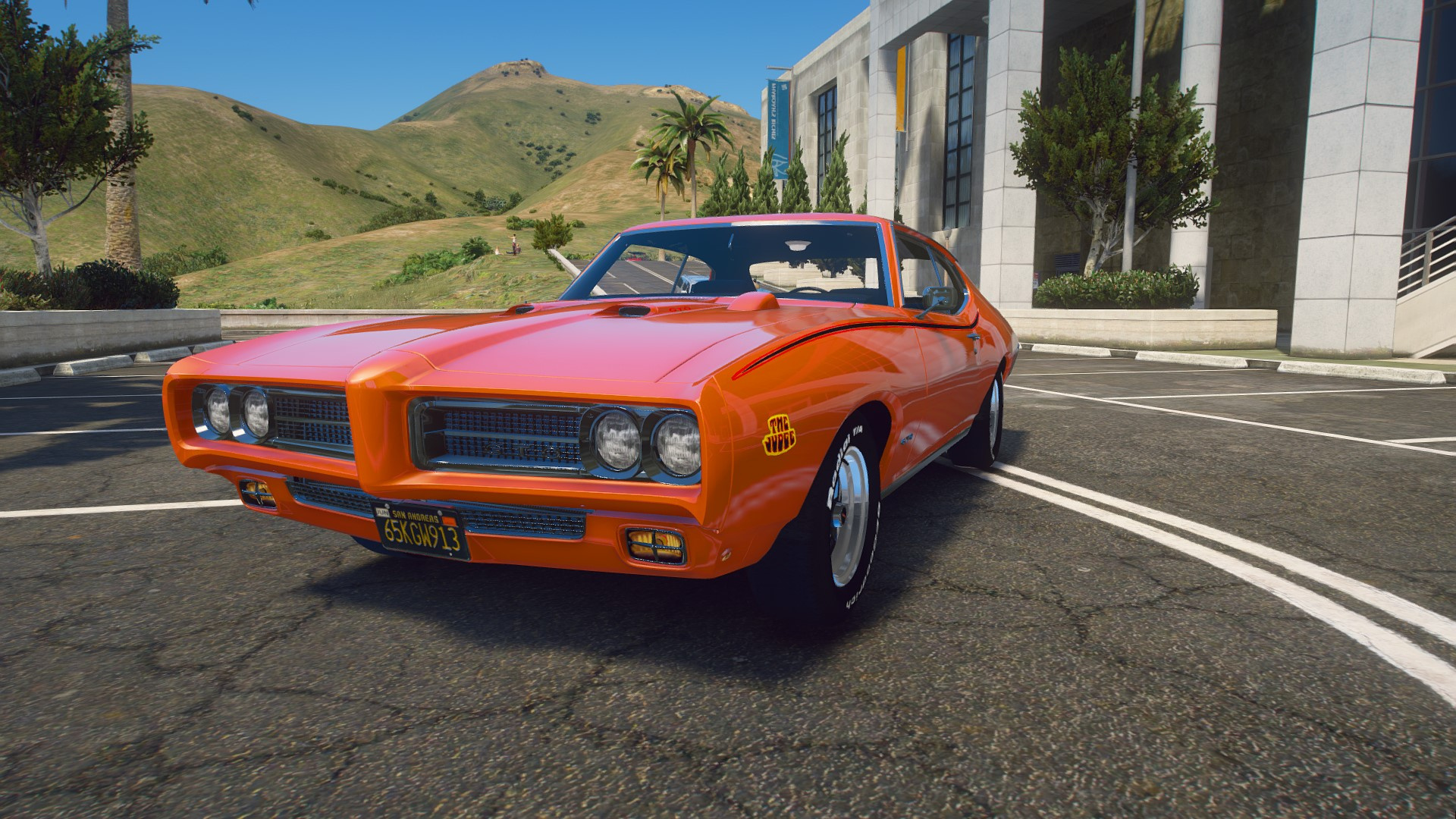 1969 Pontiac Gto Judge Add On Replace Tuning Lods Gta5 Mods Com