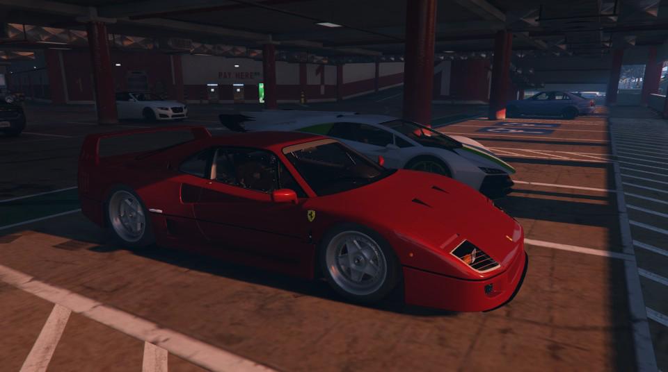 1987 Ferrari F40 Add On Gta5 Mods